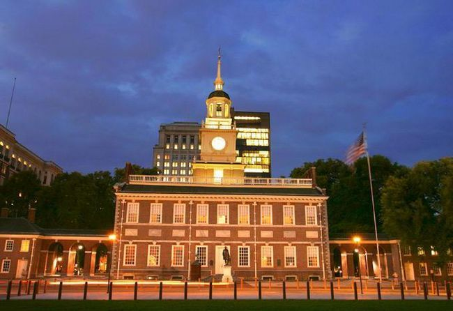 Філадельфія США пам'ятки