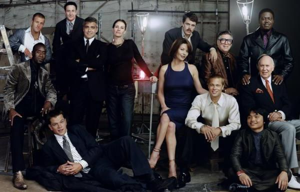 Дванадцять друзів Оушена: актори.