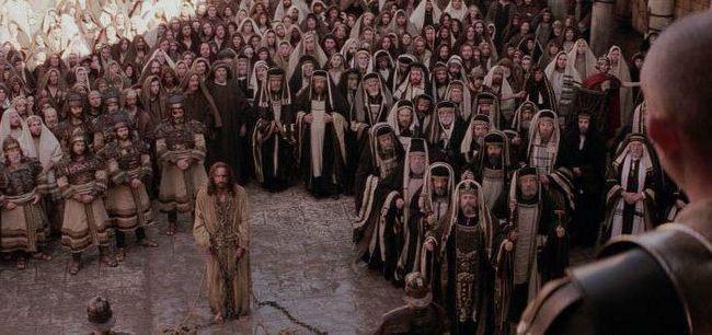 актори фільму Страсті Христові