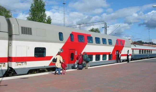 Фото - Фірмовий двоповерховий потяг Москва-Казань: фото, опис, відгуки