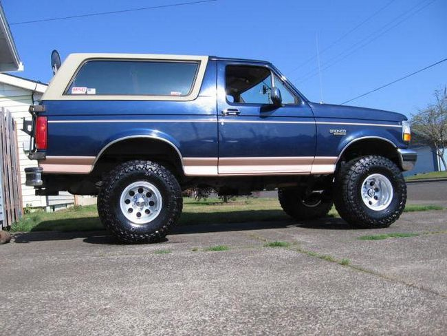 ford bronco відгуки власників