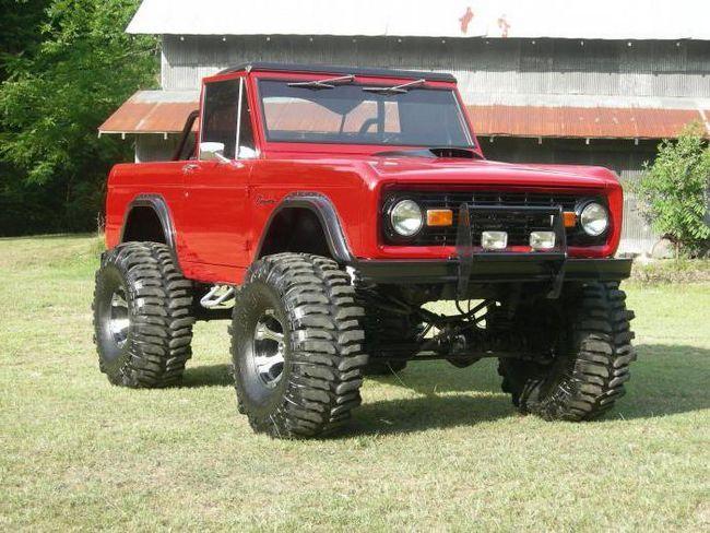 ford bronco технічні характеристики