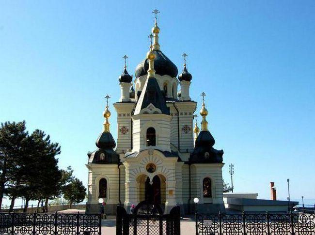 Фороська церква крим історія