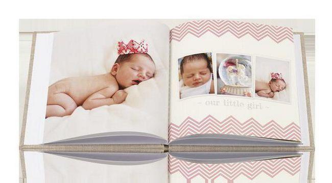 Фото - Фотокнига для дитини - все дитинство в одному альбомі