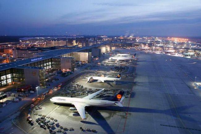 Франкфурт аеропорт фото