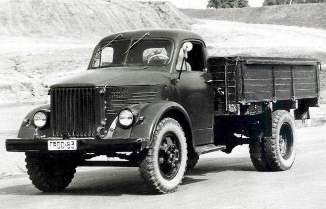 ГАЗ 63 характеристики