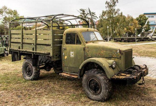Розміри ГАЗ 63