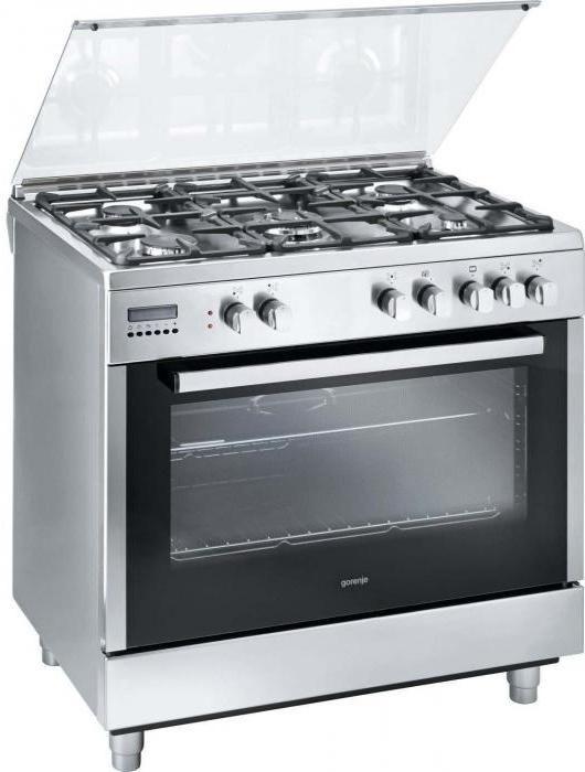 плити з духовками газові та електричні