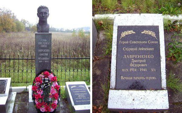 Герой Радянського Союзу Дмитро Федорович Лавриненко