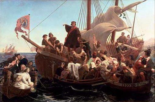 подорож Христофора Колумба