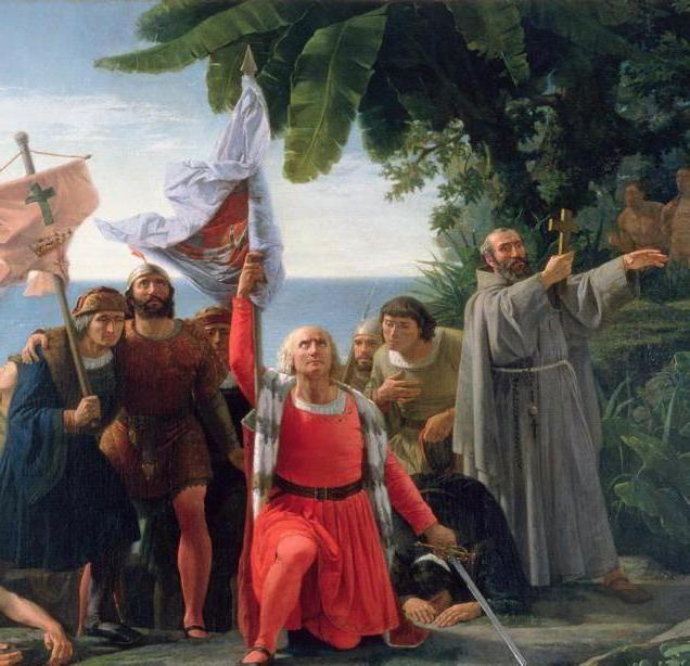 Христофор Колумб америка
