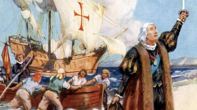 Христофор Колумб стисло