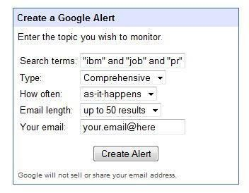 google alerts що це