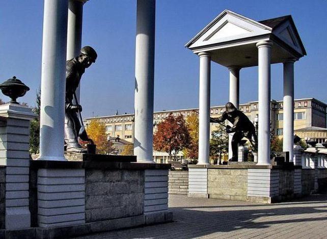 пам'ятки заводського району Новокузнецька