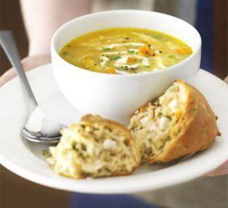 узбецький суп з пшениці