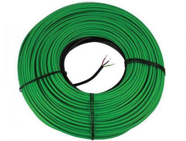 укладка кабелю теплої підлоги