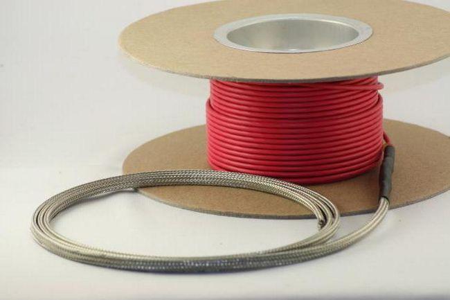 монтаж кабелю теплої підлоги