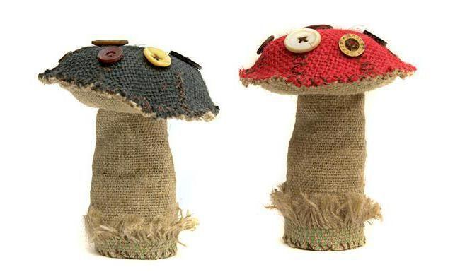 дитячі вироби гриби