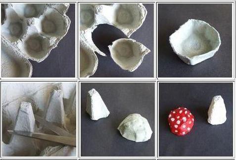 саморобка гриб своїми руками для саду