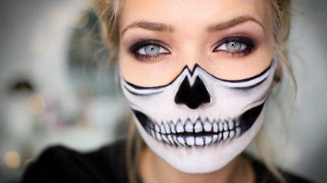 хеллоуин грим