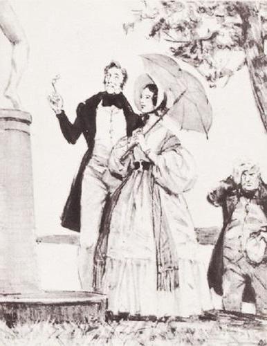 історія кохання Дубровський та махай Троекуровой