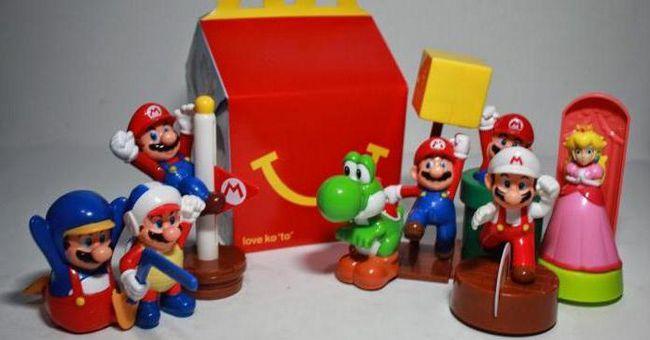макдональдс які іграшки в хеппі міл