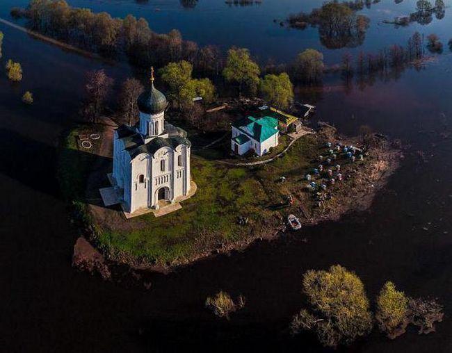 Фото - Храм на Нерлі (Боголюбово, Володимирська область): опис, історія і фото