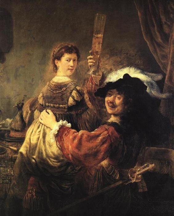 Рембрандт ван рейн картини