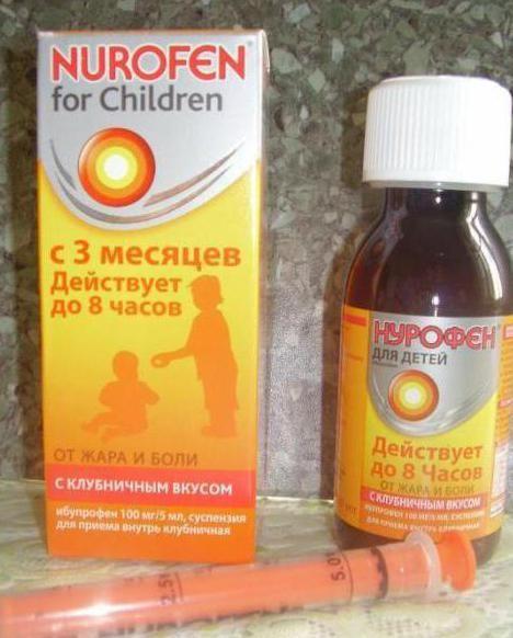 ібупрофен в сиропі для дітей