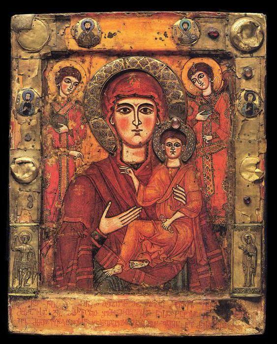 Ікона грузинської Божої Матері
