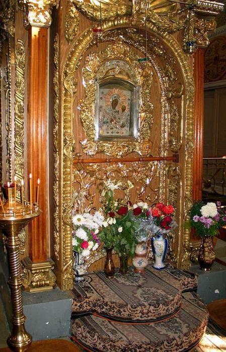 Грузинська ікона Божої Матері в Раифском монастирі