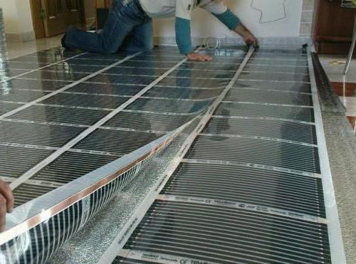 як укладати інфрачервоний тепла підлога під ламінат