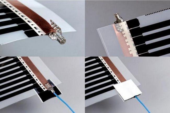 інфрачервоний плівковий тепла підлога під ламінат