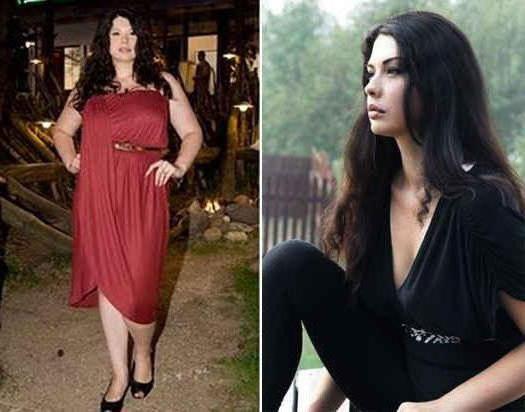 Інна Воловичева до і після