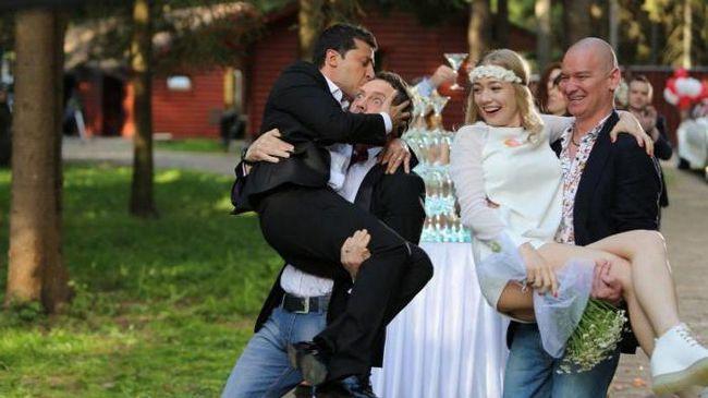 Володимир Зеленський фільмографія комедії