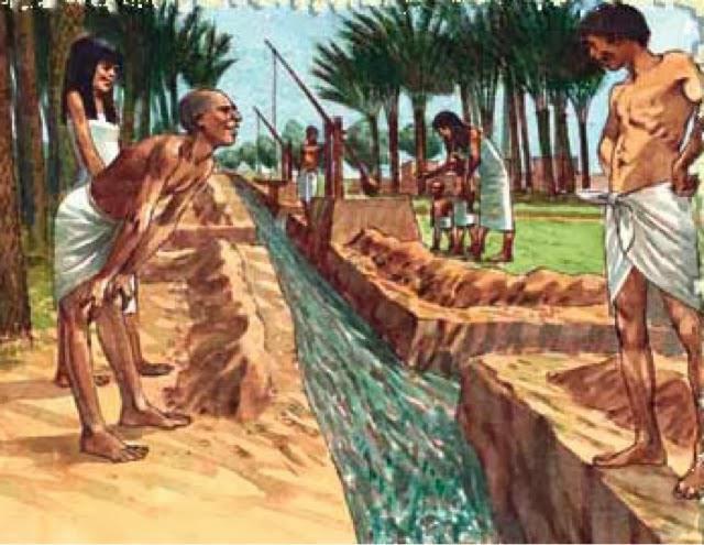 іригаційна система в стародавньому Єгипті