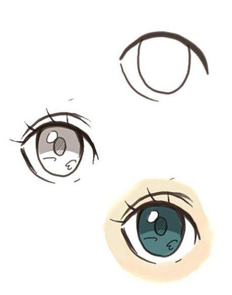 Фото - Мистецтво по-японськи: як намалювати аніме очі?