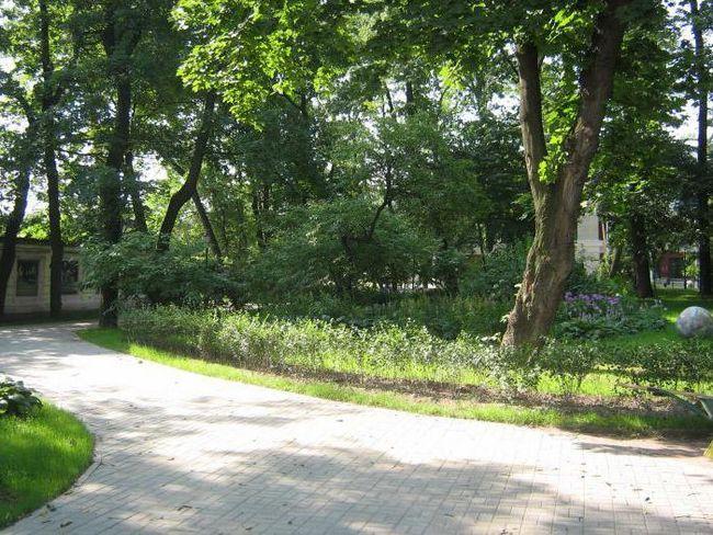 Ізмайловський сад як дістатися
