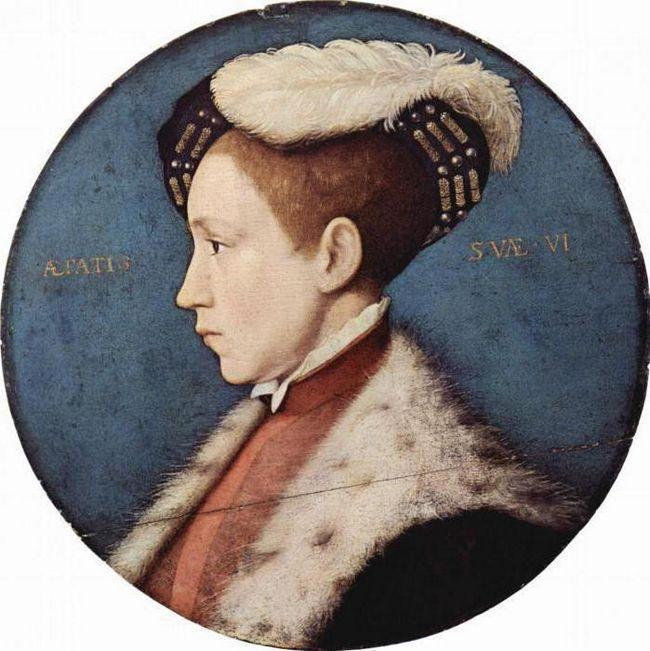 Едуард vi король Англії
