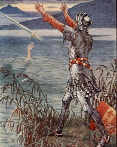 історія меча Екскалібур