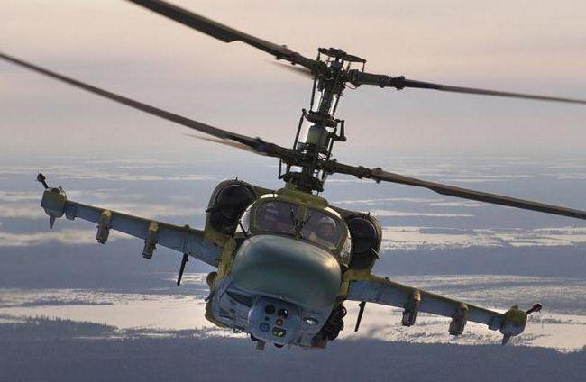 вертоліт ка 52К катран