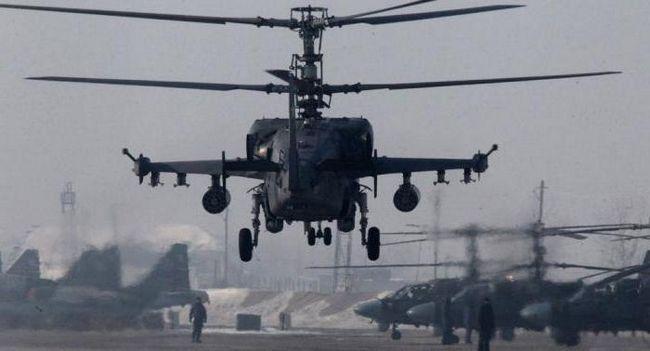 вертоліт ка 52К