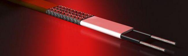 кабель резистивний нагрівальний
