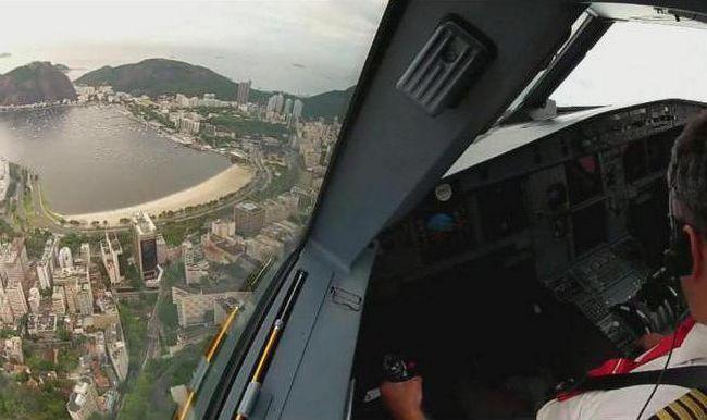 Фото - Кабіна літака: що всередині?