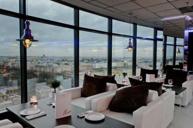 панорамні ресторани санкт петербурга