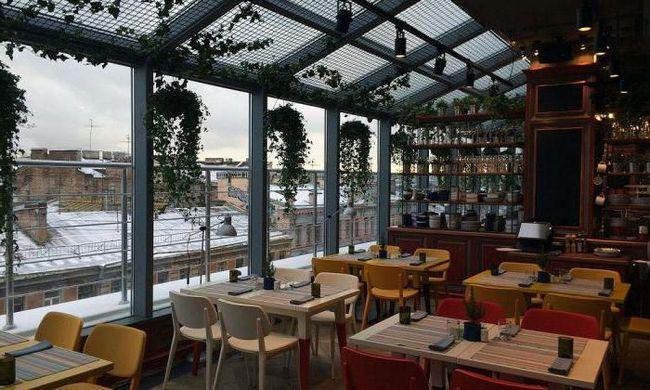 кафе і ресторани з панорамним видом спб