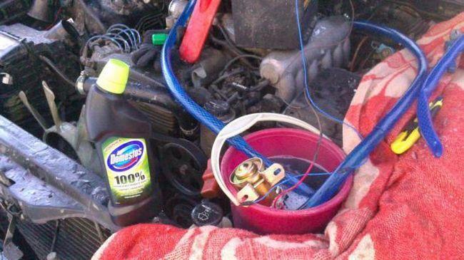 Чим промити радіатор грубки автомобіля