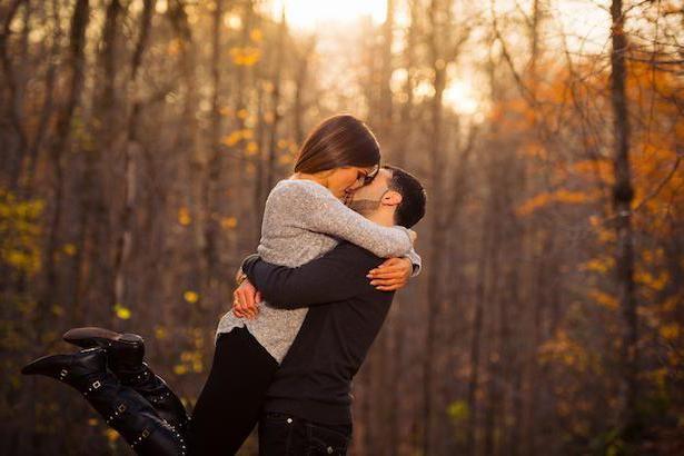 ідеї фотосесії восени на природі фото