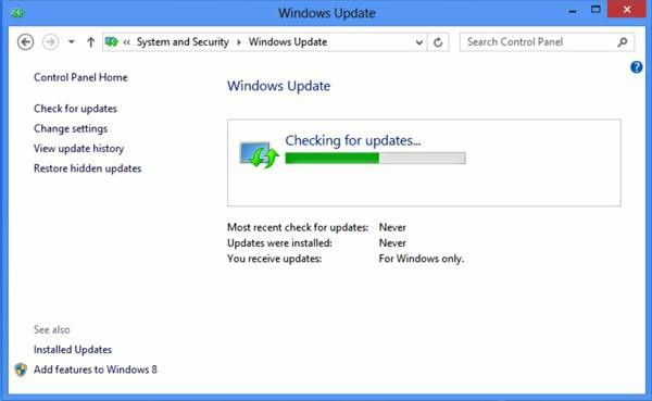 як оновити драйвера windows 8