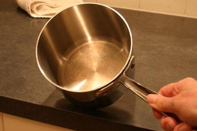Пригоріло варення як очистити каструлю з нержавійки